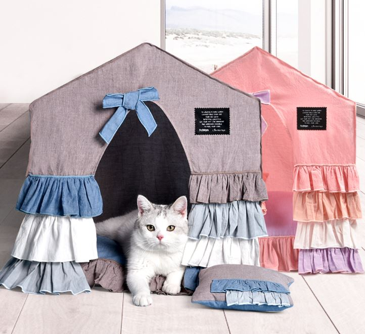 Brilliant Details About Handmade Princess Pet Dog Cat Bed House Tent Sofa Cushion Indoor Frame Bed Small Andrewgaddart Wooden Chair Designs For Living Room Andrewgaddartcom
