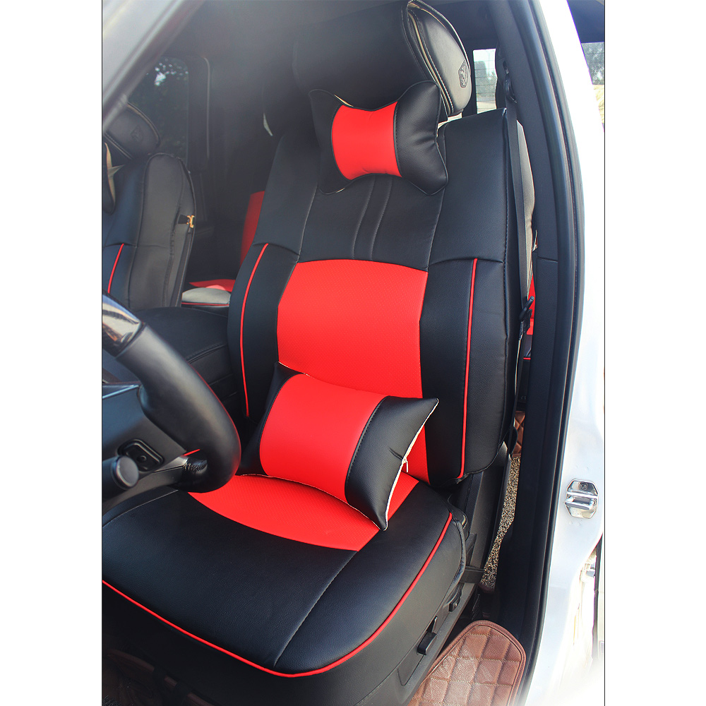 Black Amp Red Car Seat Cover For Dodge Ram 1500 2500 3500 2009