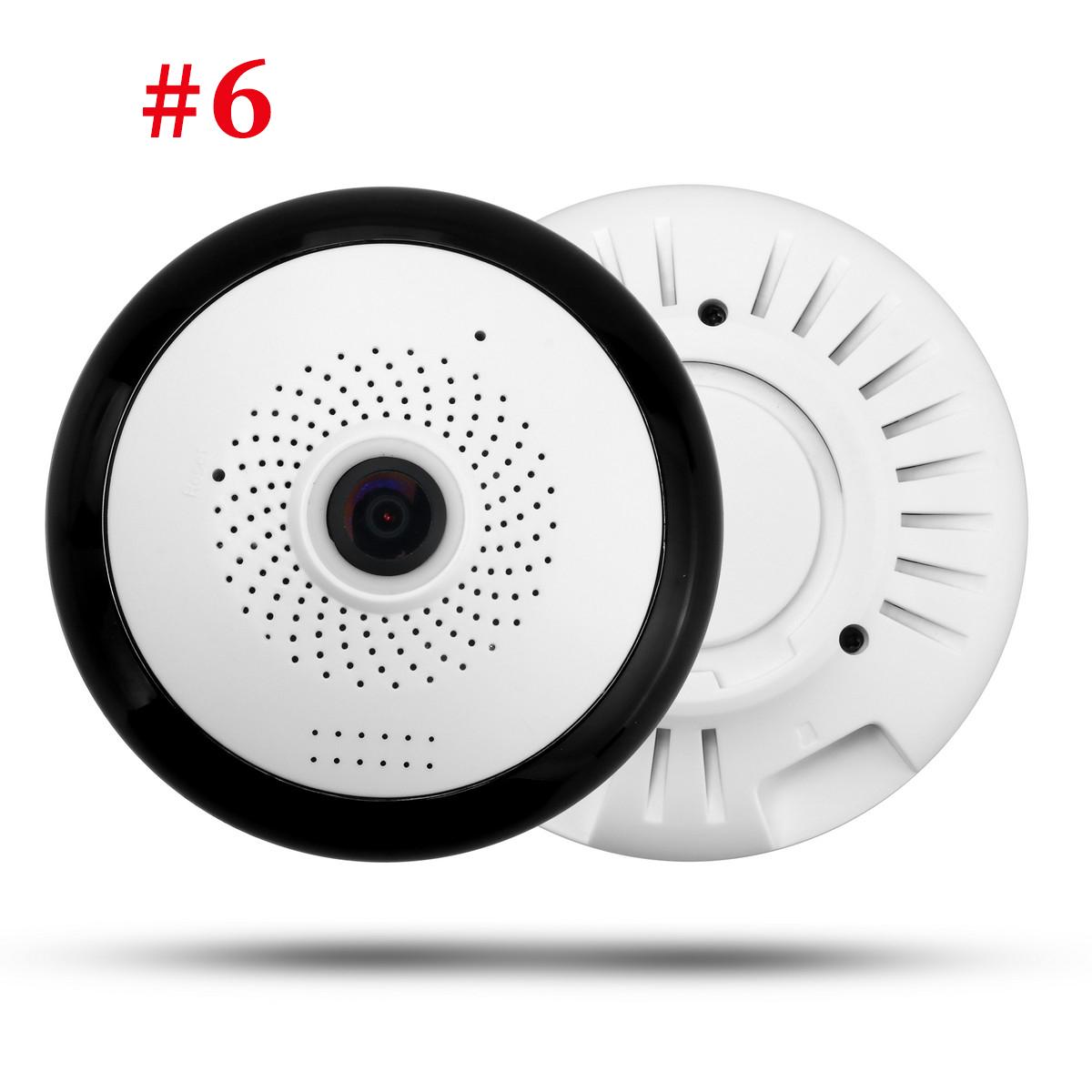 UGI Wireless HD FishEye IP WiFi Panoramic Camera 960P 360 Degree 1.3MP Security
