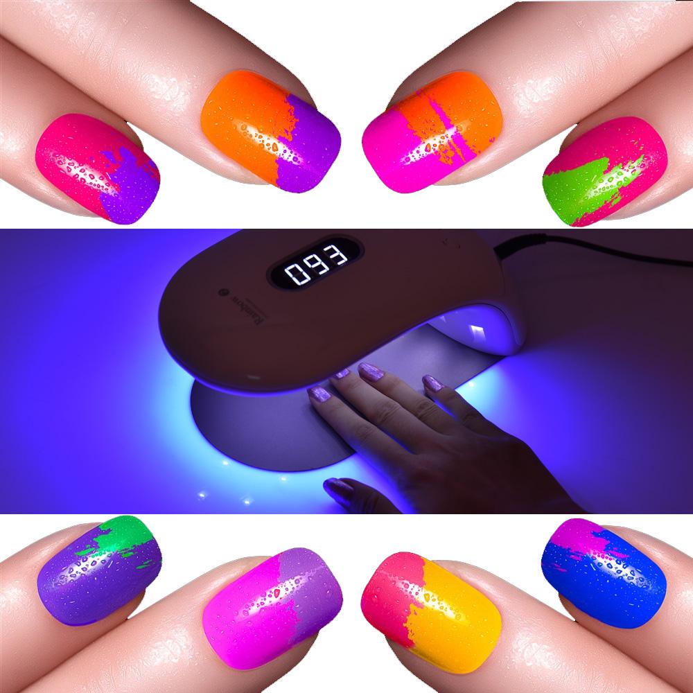 Professional UV LED Display Nail Polish Lamp Phototherapy Machine ...