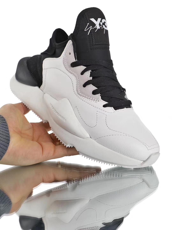 d672185ca8374 Details about 2019 Y3 Kaiwa Yohji Yamamoto Lace Up Men s Qasa High Boost  Black Trainers Shoes