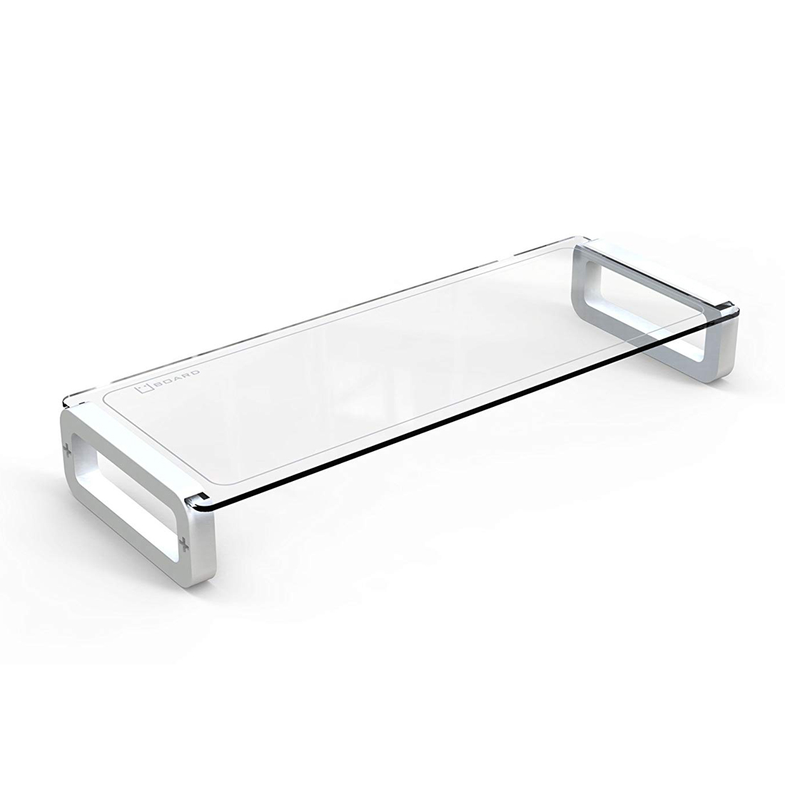 Uboard Basic Tempered Glass Monitor Stand Shelf Multiboard
