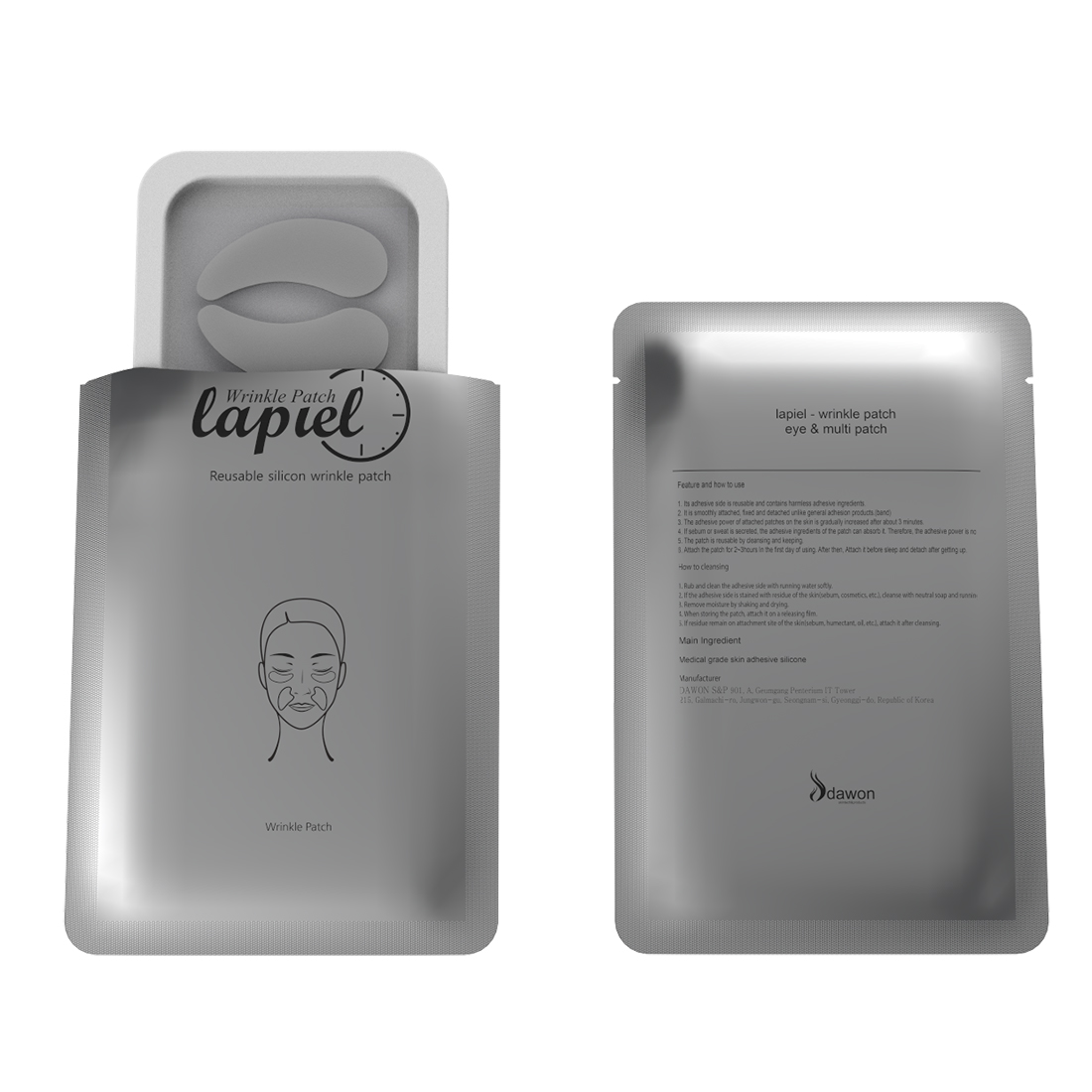 Lapiel Multi Wrinkle Patch Anti Aging Spot Patch Anti Wrinkle