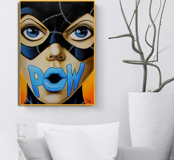 Stylish Person Figure Abstract Wall Art Oil Painting Canvas Painted Poster NEW 5