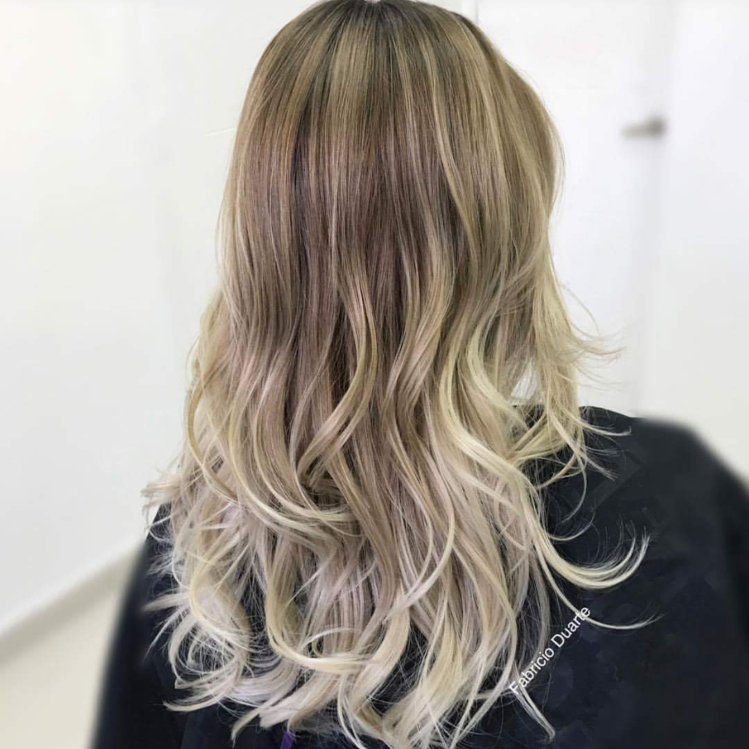 Kinky Curly Synthetic Ombre Hairstyle Blonde Hair For Women Full
