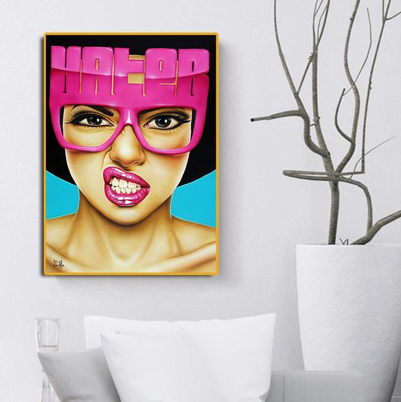 Stylish Person Figure Abstract Wall Art Oil Painting Canvas Painted Poster NEW 10