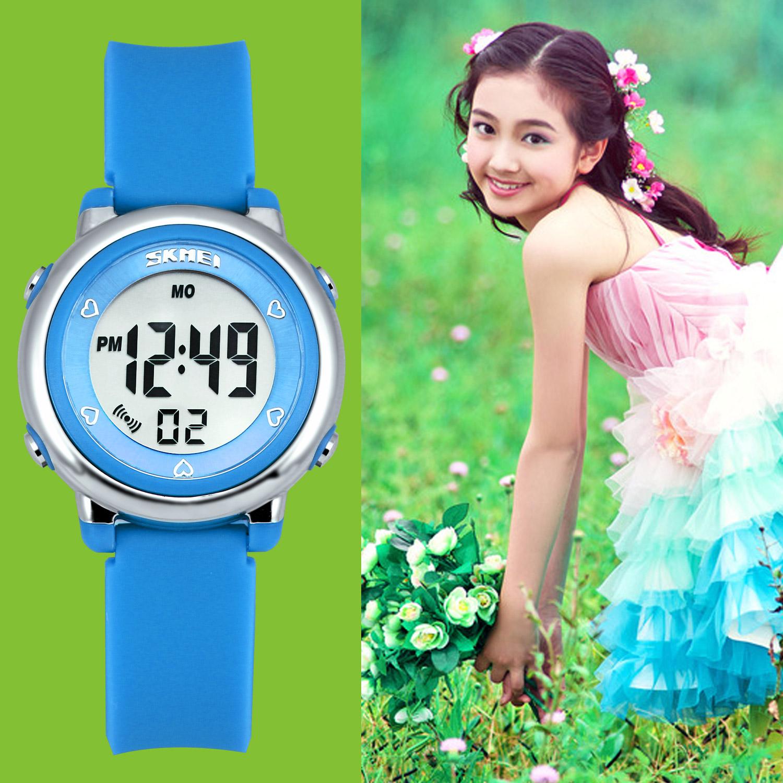Zeiger Kinderuhr Digital Sportlich Jungen Mädchen Uhr Armbanduhr