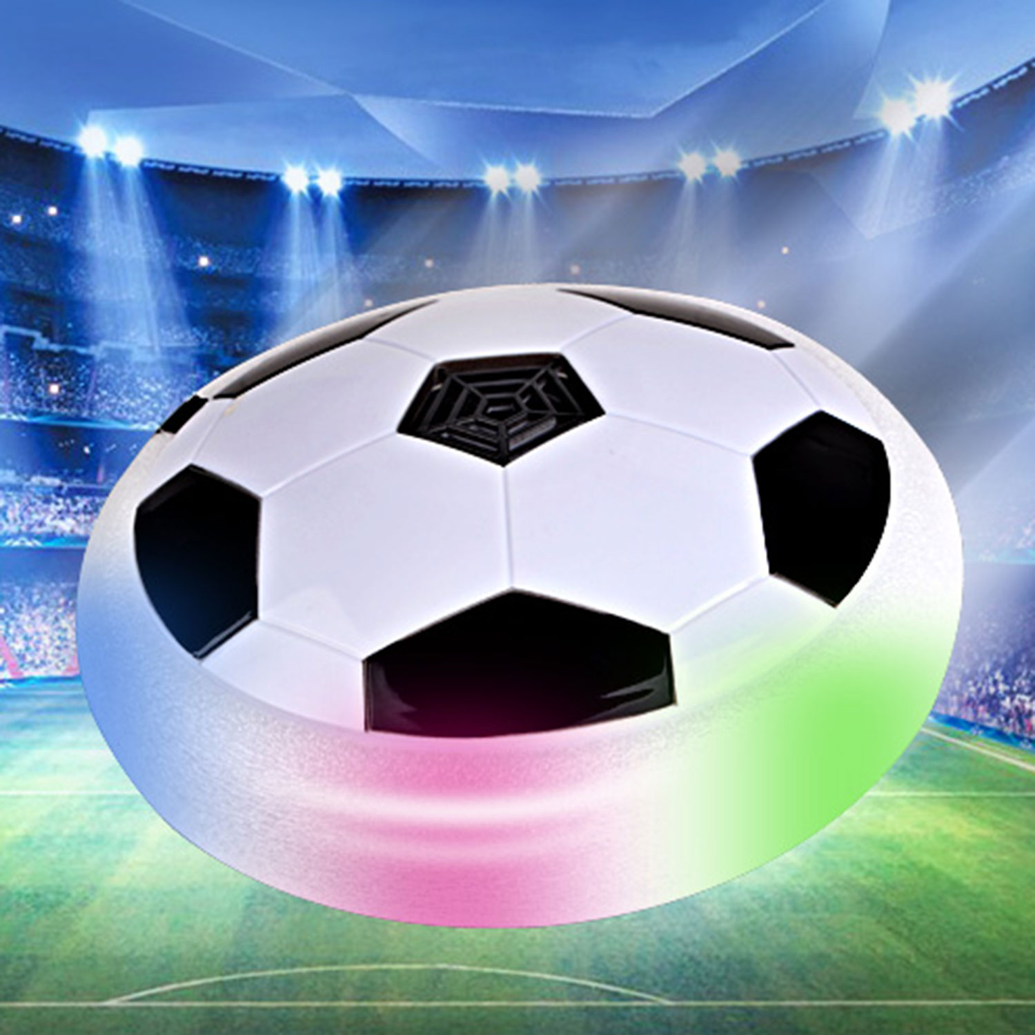 Led Air Power Fußball Hover Ball Indoor Fußball Trainer Mit