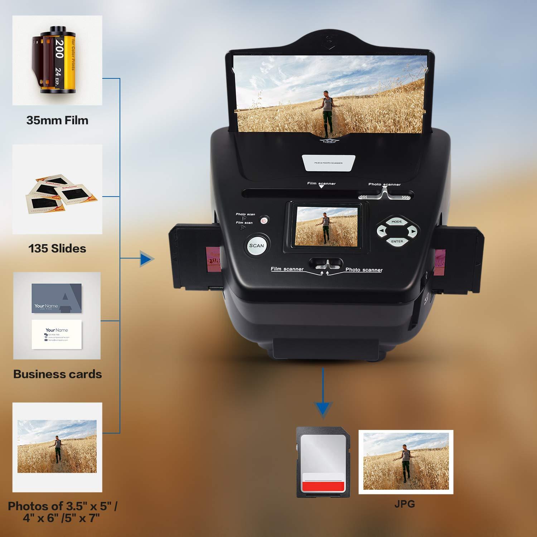 DIGITNOW!Photo Scanner 35mm//135 Slide/&Negative Film Scanner to Digital Converter