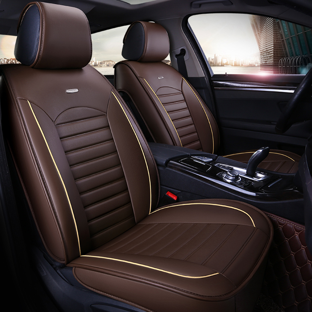 5 Seats Car SUV Van Seat Cover Front /& Rear Full Cushion Surround Universal New