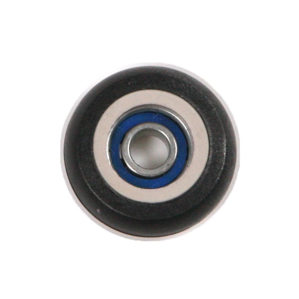 20pcs 695ZZ Plastic Coated Pulley Tire Wheel Arc Ball Bearing 5x23x7.5mm