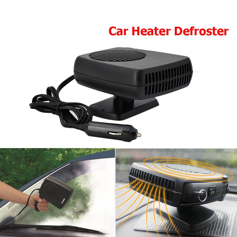 12V 150W Portable Car Van Cooling Fan Defroster Demister Ice Summer Cool,