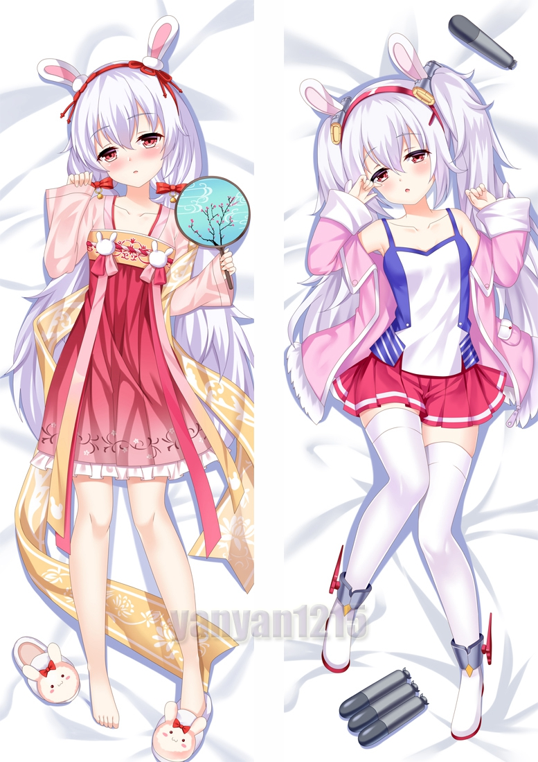 59/'/'Anime Azur Lane USS Laffey Dakimakura Pillow Case Cover Hugging Body Gift