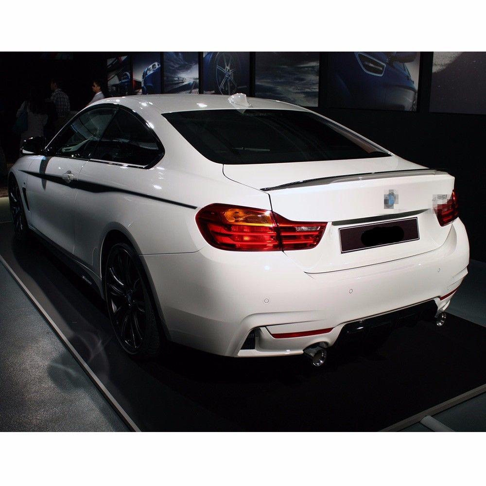 Carbon Fiber Lip Trunk Spoiler Fit For BMW F32 430i 435i