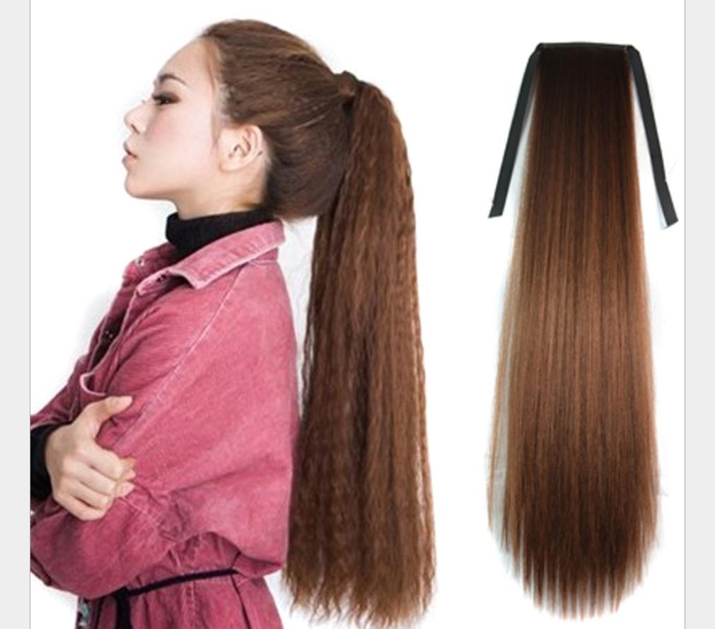 Details about Fashion Wig Accessories Girls Bundle Ponytail Wigs for Women  Human Hair