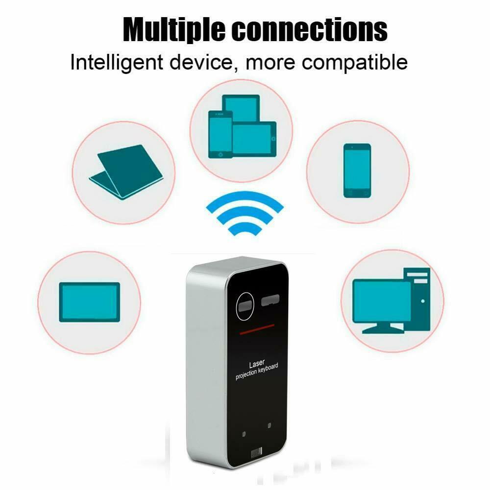 Portable Mini Wireless Virtual Keypad Bluetooth Keyboard