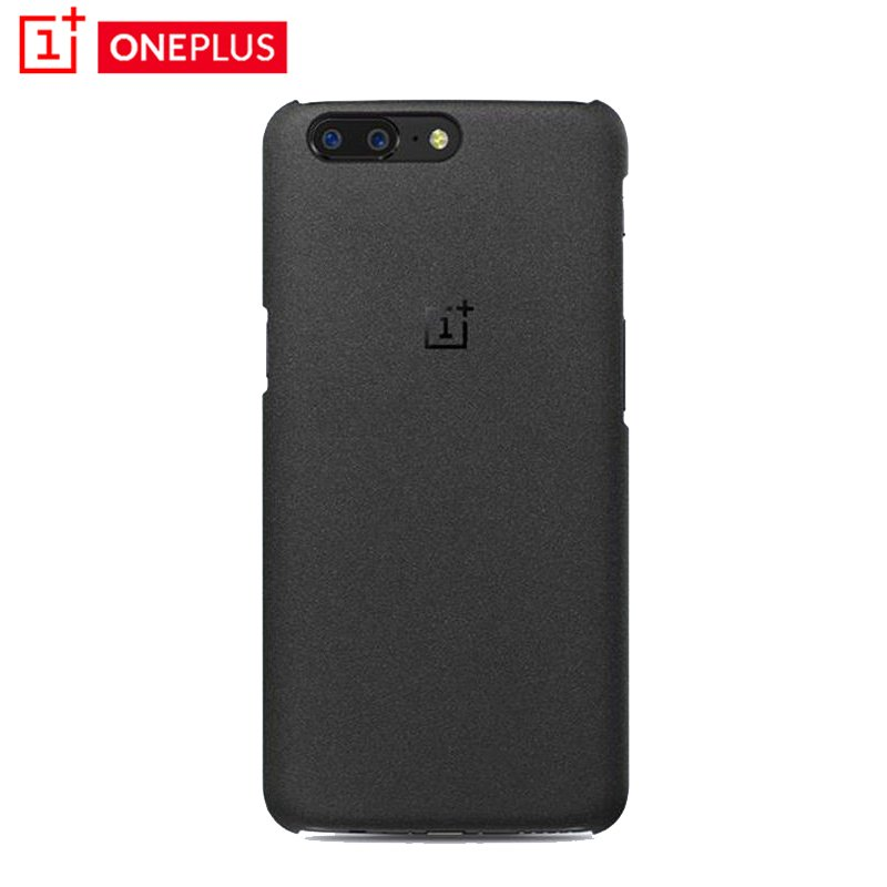 best cheap 33199 cdcf7 Details about Official Original OEM 1+ 5 Sandstone Black Back Case Cover  For OnePlus 5 Five