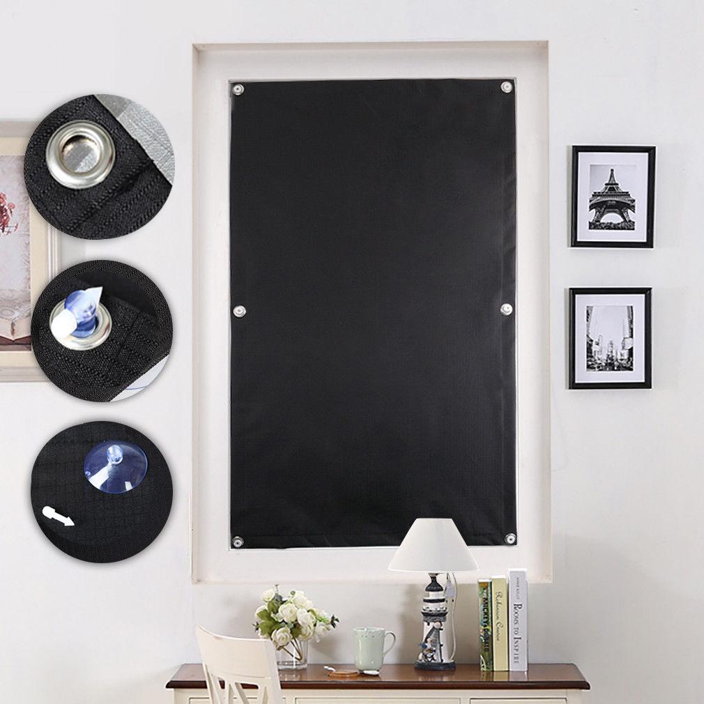verdunkelung saugnapf rollos sonnenrollo fensterrollo dachfenster schwartz de ebay. Black Bedroom Furniture Sets. Home Design Ideas