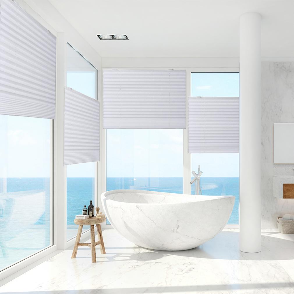 plissee rollo hitzeschutz dachfenster verdunkelungsrollo. Black Bedroom Furniture Sets. Home Design Ideas
