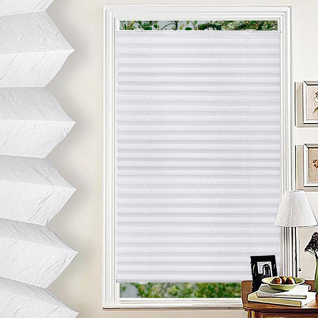 plissee rollo hitzeschutz dachfenster verdunkelungsrollo mit krafthaftsaugern ebay. Black Bedroom Furniture Sets. Home Design Ideas