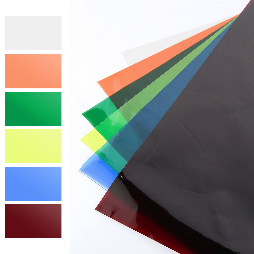 Details About Soft 6 Colors Lighting Filter Gel Sheets 16 X20 For Photo Camera Studio Lamp
