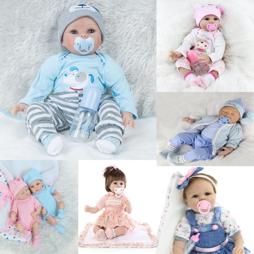 Réaliste reborn bébé Floppy Head réaliste bébé poupée garçon vêtements Cadeau