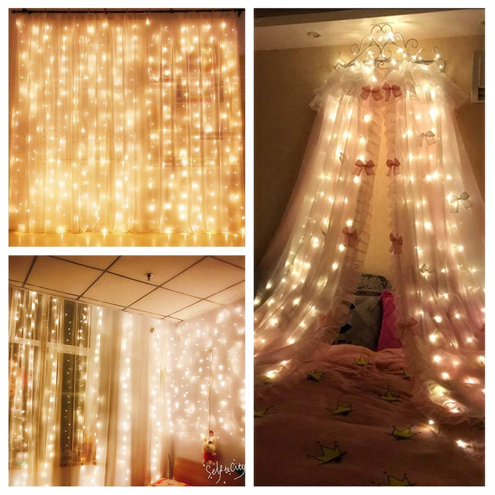 60LED Star Lights USB Adjustable Fairy String Light Indoor Party Bedroom Xmas UK