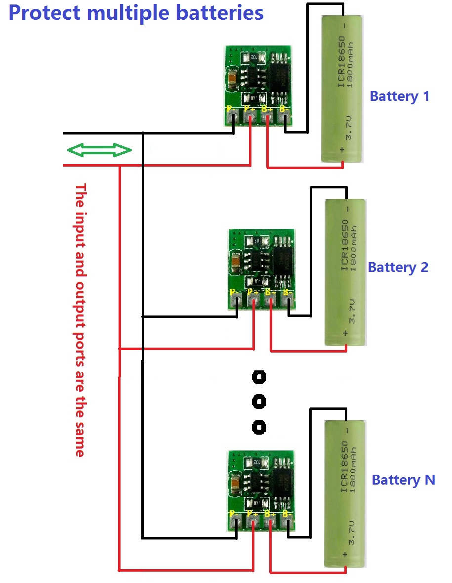 37v 42v 18650 Li Ion Lithium Battery Charger Over Discharge How To Build Lithiumpolymer Peak Circuit Diagram Diy Mobile Powerthis Application You Need Dd05cvsa Click Here