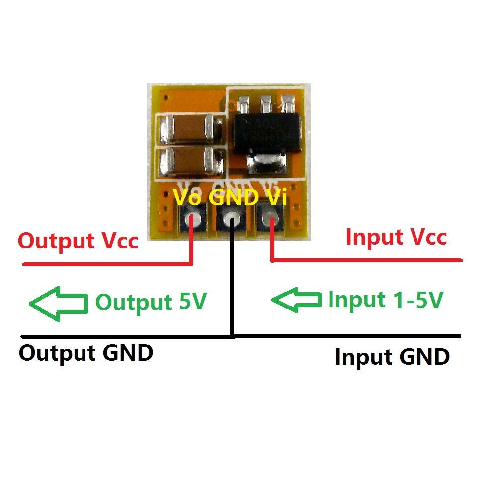 3v 33v 5v Dc Boost Converter Step Up Voltage Regulator Power 12v Supply Circuit Diagrams Module