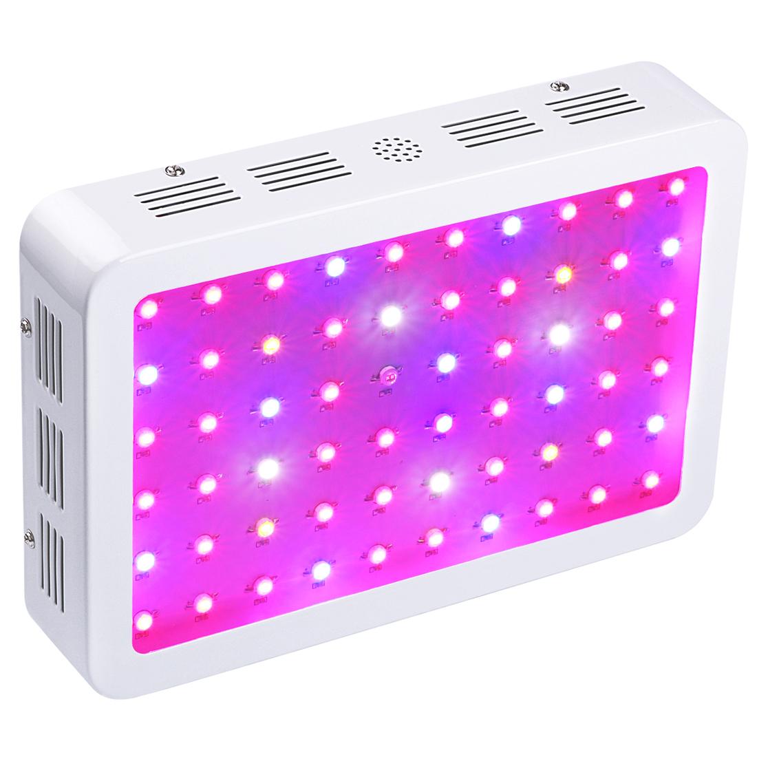 BOSSLED 600W LED Grow Light Full Spectrum Greenhouse Indoor Plant ...