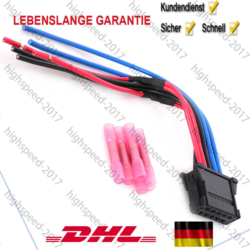 Stecker Kabelstrang Widerstand Heizgebl U00c4se F U00fcr Renault
