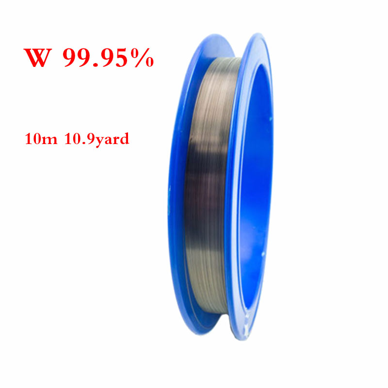 11yard 99.95/% Tungsten Wolfram W Metal Wire 0.1-0.25mm Electrode Anode US Stock