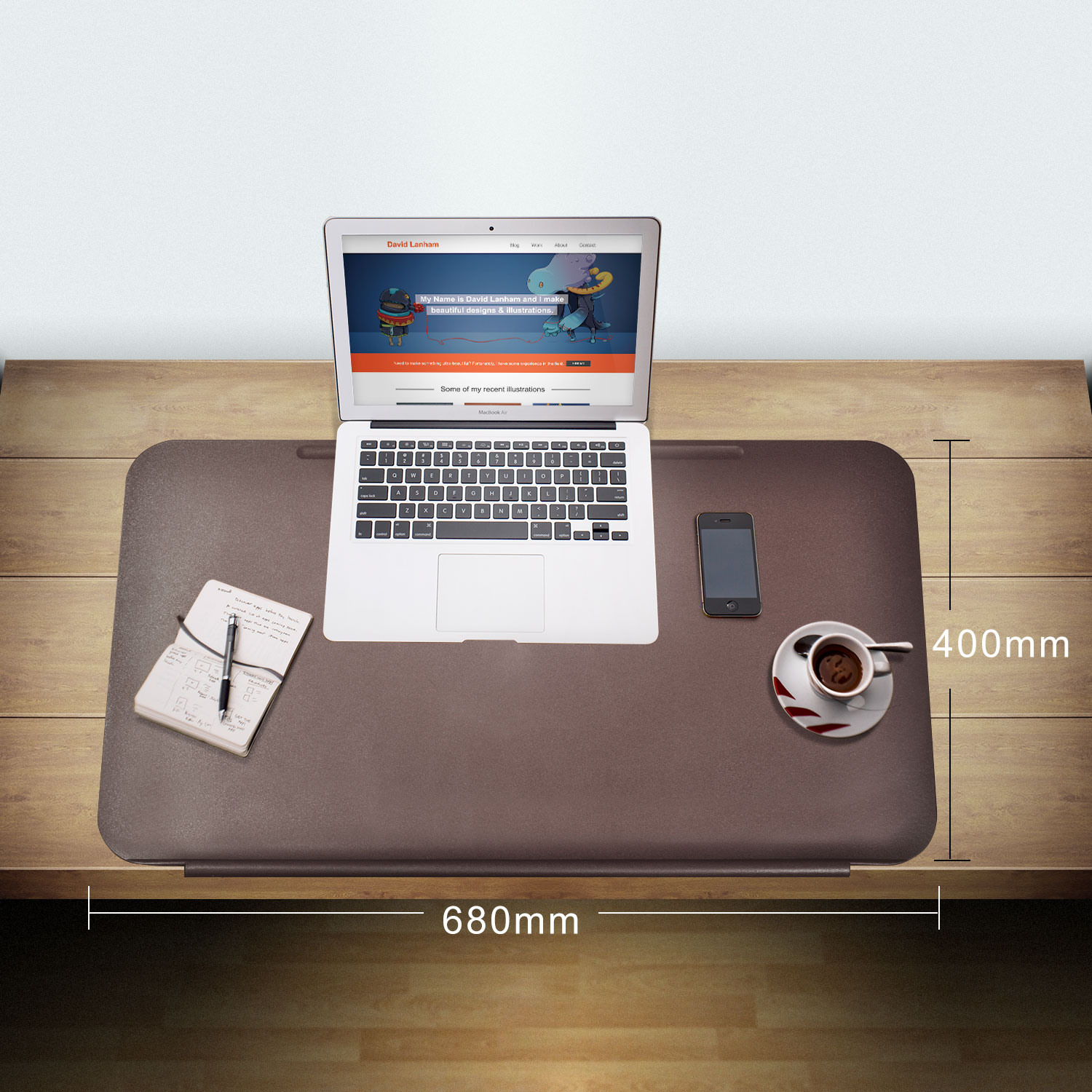 Tpu Desk Pads With Fixation Lip Comfortable Desktop Protector Mat