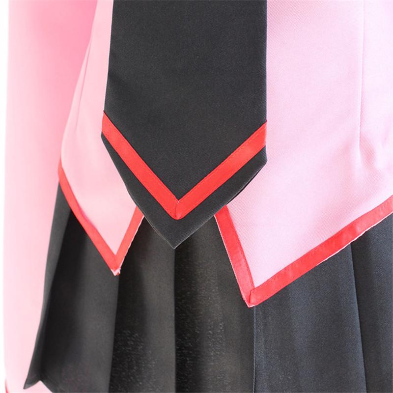 Hot Japan Anime Owarimonogatari Oshino Ougi Cosplay Costume Uniforms Dress Set