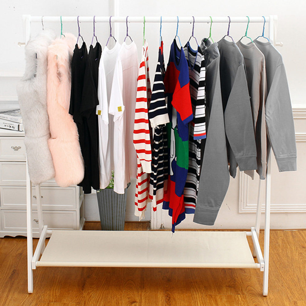 rail rolling wardrobe metal heavy clothes duty rack mcr hom portable garment stand voilamart double g