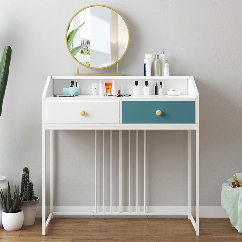 Modern 2 Drawer Dressing Table Makeup Computer Desk Vanity ...