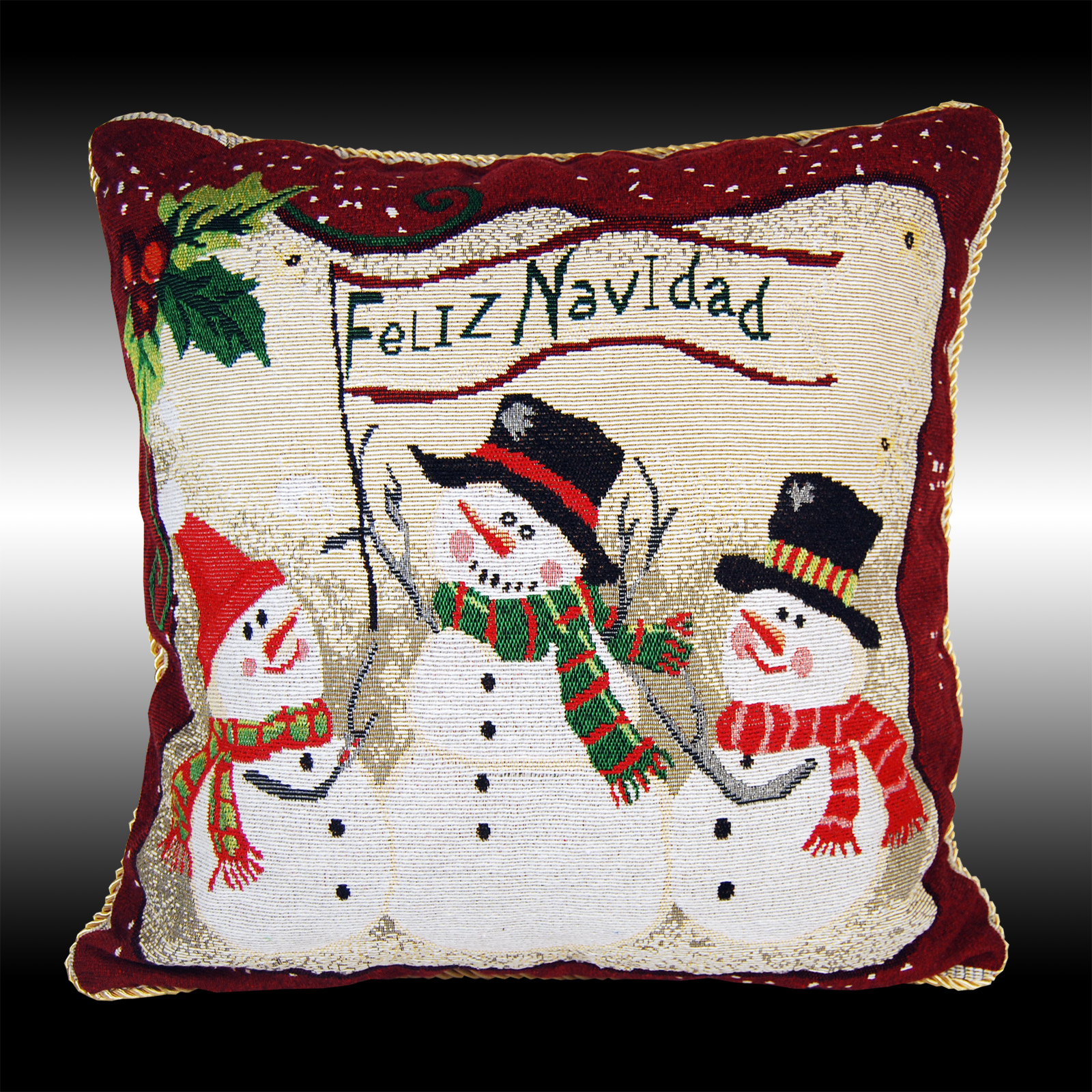 Tapestry pillowcases with a Christmas theme: actual offers from the manufacturer