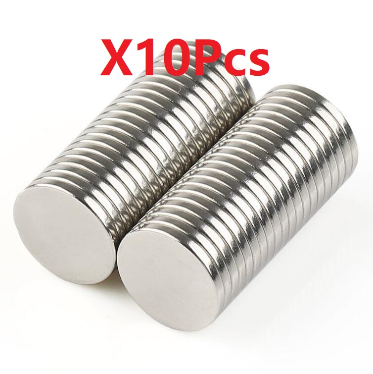 N35 X10pcs Strong Mini Round Cylinder Bar Magnets 8*5mm Rare Earth Neodymium