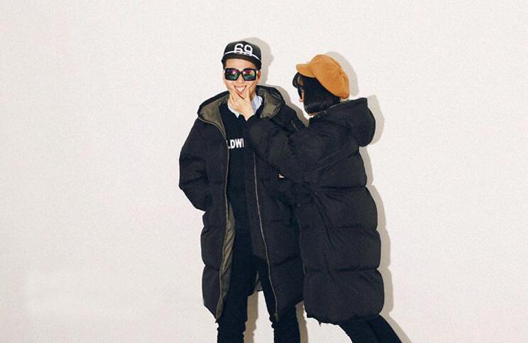 Women Men's Puffer Long Oversize Coat Down lovers Quilted Jacket ... : mens long quilted jacket - Adamdwight.com
