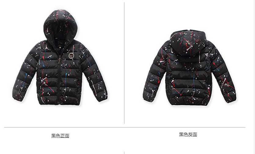 4-14Y-Kids-Boys-Cotton-Quilted-Padded-Jacket-Puffer-Coat-Hooded-Parka-snowsuits thumbnail 20