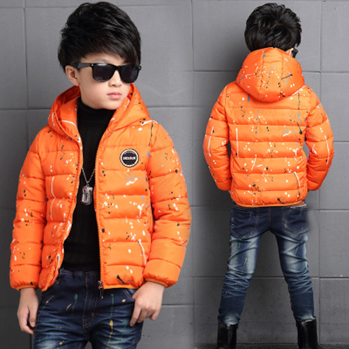 4-14Y-Kids-Boys-Cotton-Quilted-Padded-Jacket-Puffer-Coat-Hooded-Parka-snowsuits thumbnail 22