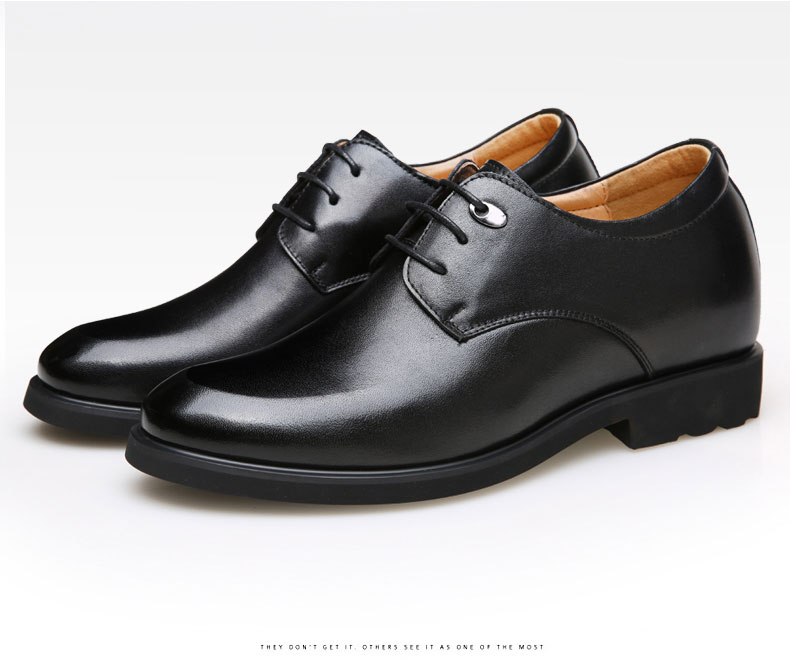 7f0928f66da Mens Leather Shoes Dress Shoes Business Wedding Shoes pigskin formal ...