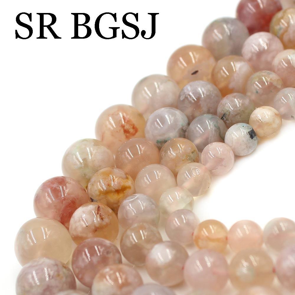"""6x4mm Rain Flower Stone Jasper Rondelle Beads 16/"""""""