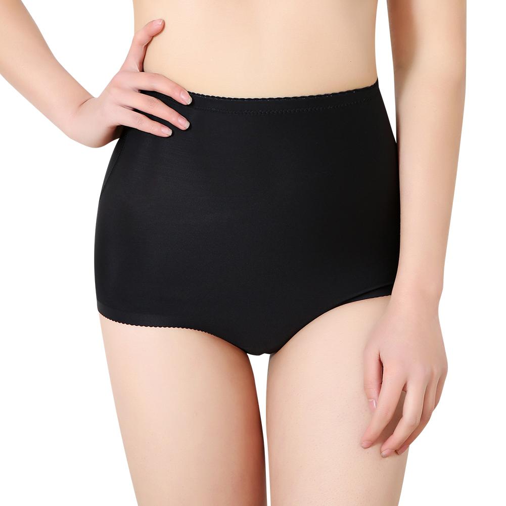 seamless high waist padded shaper tummy control fake ass hip