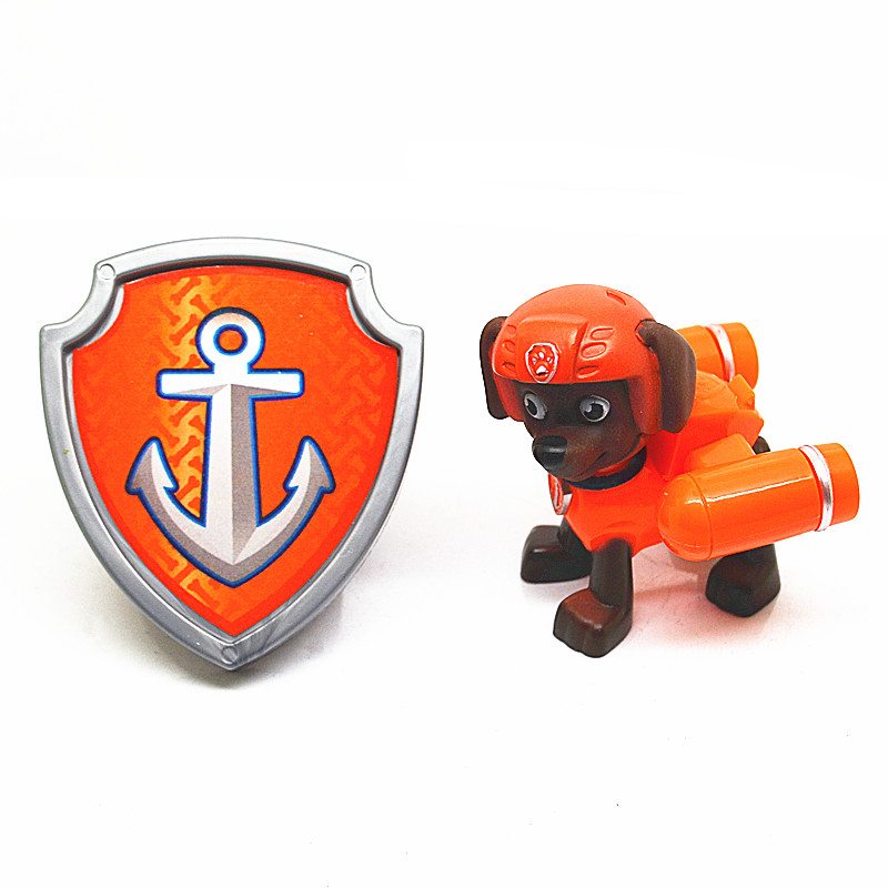 Paw Patrol Toy For Everyone : Pcs paw patrol figures dog doll backpack projectile badge