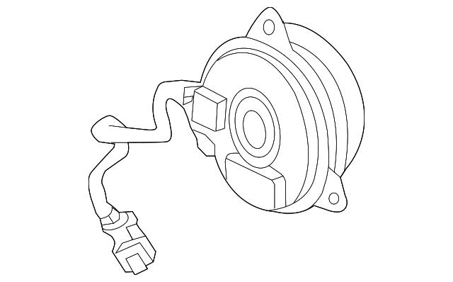 New Engine Radiator Cooling Fan Motor For 2015 2018 Honda Fit 1 5l