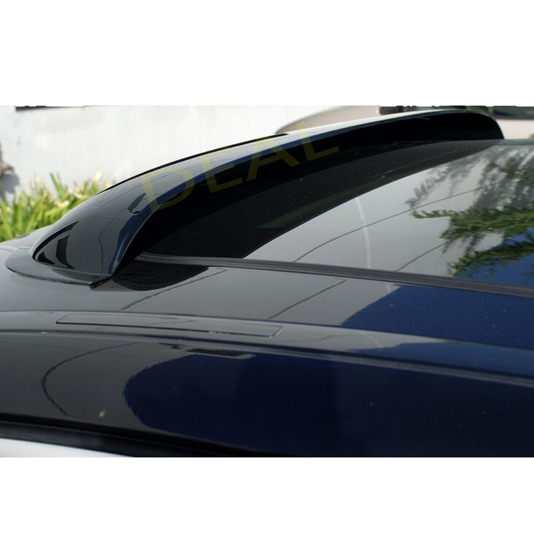 "43/"" Smoke Sun Moon Roof Visor Rain Guard Windflector FOR F150 250 E-Serie Van #4"