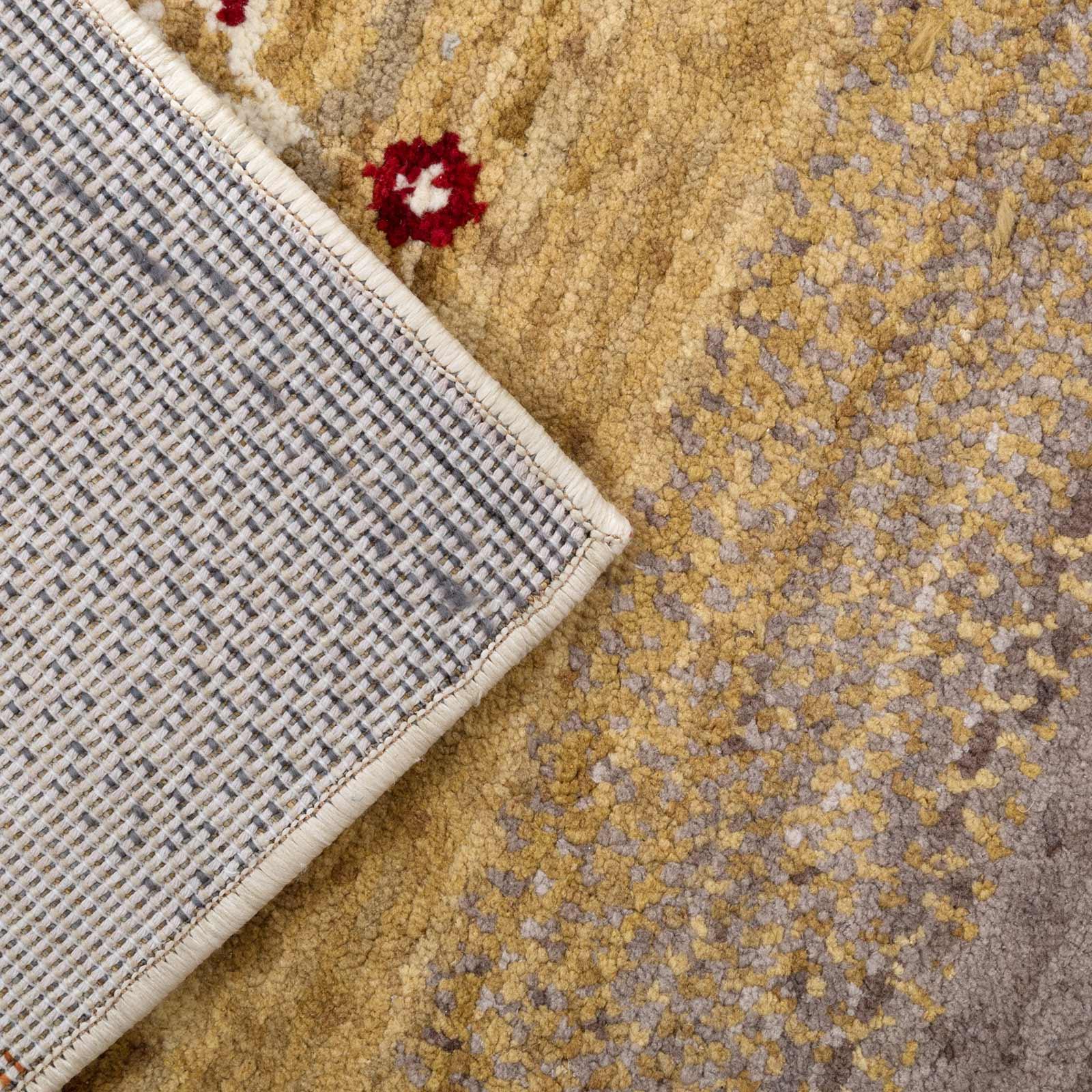 gabbeh teppich wohnzimmer mehrfarbig grau beige rot creme braun blau kurzflor ebay. Black Bedroom Furniture Sets. Home Design Ideas