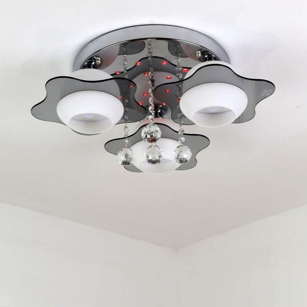 Nts led kristall deckenleuchte deckenlampe wohnzimmer for Wohnzimmer lampe 6 flammig