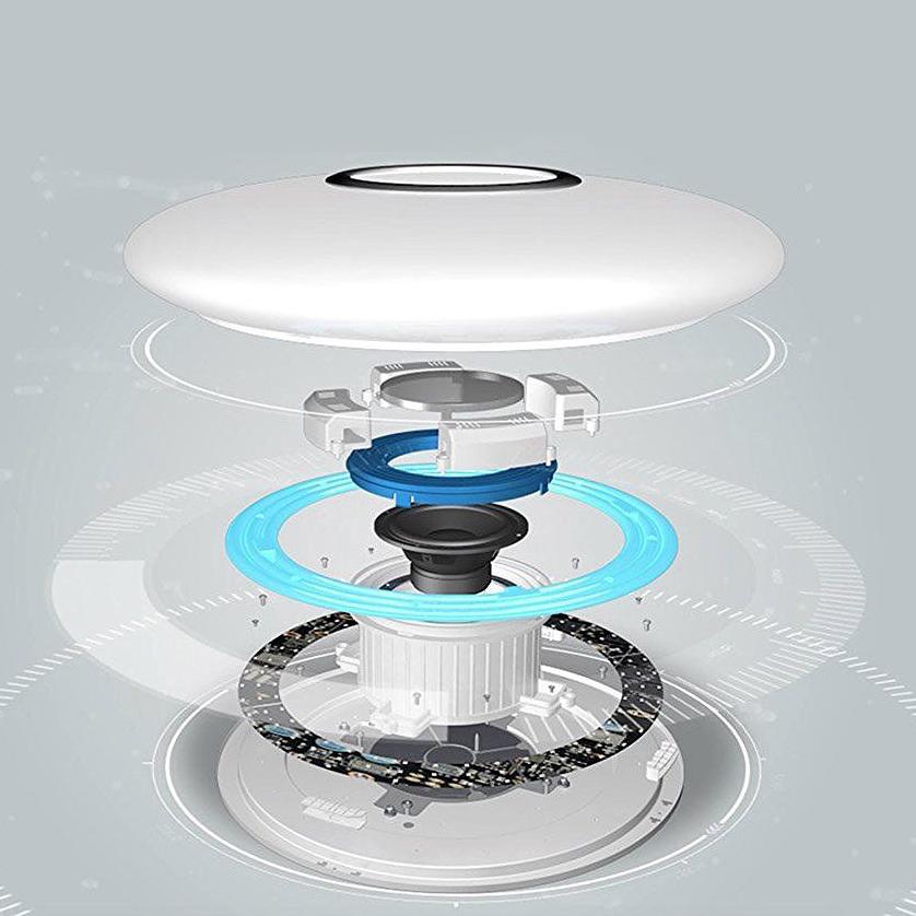 rgb led smart home dimmbar deckenlampe leuche lautsprecher